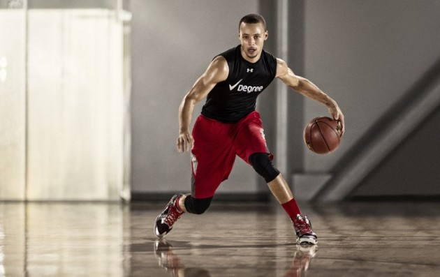 Stephen Curry for Degree